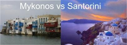 Mykonos vs Santorini