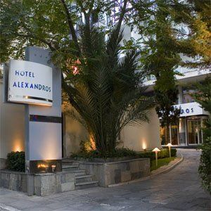airotel alexandros a four stars hotel in Athens Greece