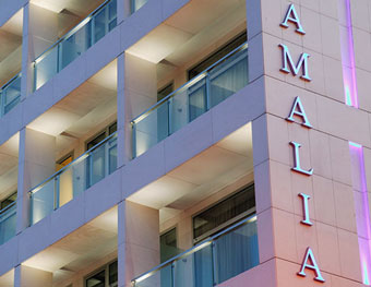 amalia hotel a four star hotel in Athens Greece