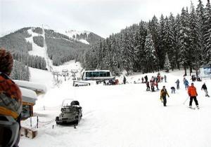 Σκι στο Bansko, της Βουλγαρίας